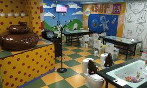Crazy_Toilet_Cafe public toilet