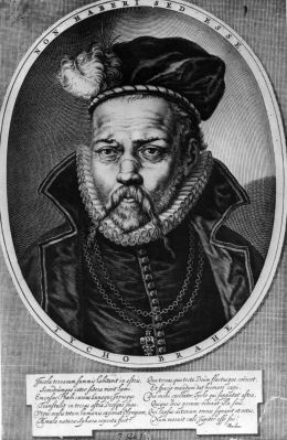 Circa 1600, Tycho or Tyge Brahe ( 1546 - 1601) the Swedish-born Danish astronomer. He lost most of his nose at the age of 19 in a duel and for the rest of his life wore a false silver nose. (Photo by Hulton Archive/Getty Images)