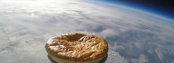 pie in space