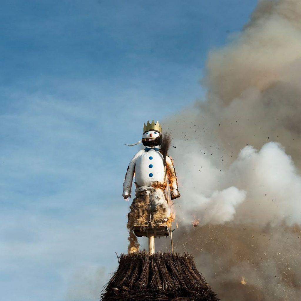 Burning the Böögg