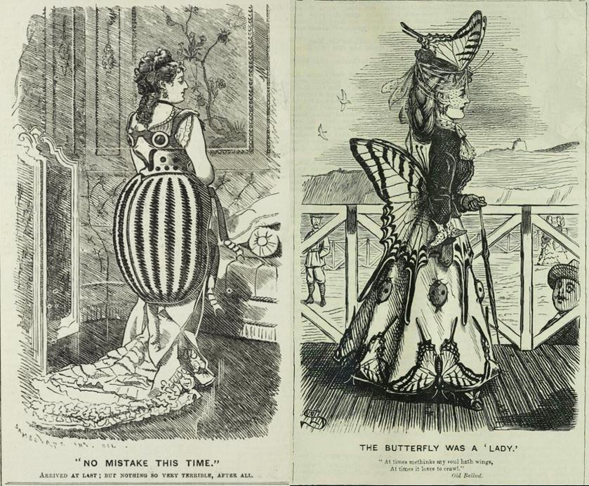 Victorian Insect Jewelry Punch cartoon