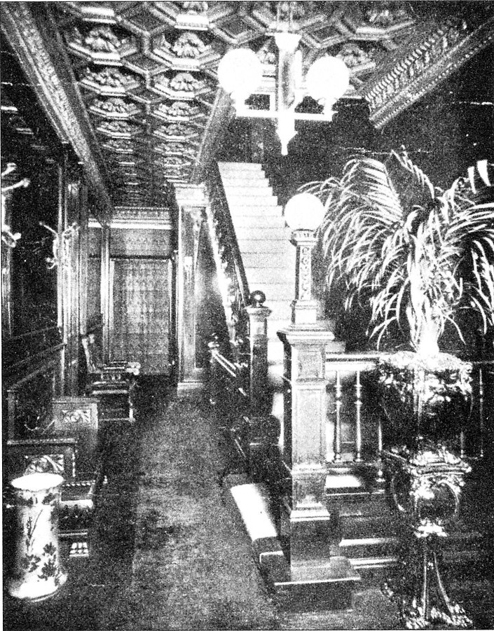 Entrance Hall at the Everleigh Club
