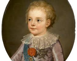 Caca Dauphin prince LOUIS-JOSEPH-XAVIER-FRANÇOIS.