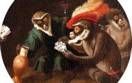 drunk monkeys in art